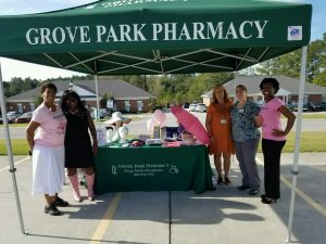 Celebrating Breast Cancer Awareness with Singleton's Health Clinic and tRMC.
