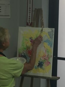 Grove Park Provides Therapeutic Painting for Grieving Staff