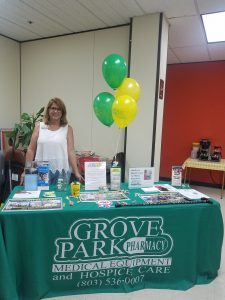 Grove Park Pharmacy, Medical Equipment and Hospice at Council on Aging Health Fair