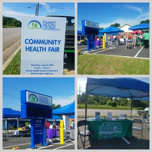 Grove Park Pharmacy, Medical Equipment and Hospice Participates in Health Fair