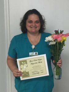 Grove Park Hospice Angel of the Month: Amanda Peeples