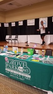 Grove Park Pharmacy,Medical Equipment and Hospice Care Attends the 13th Annual Ollie Johnson Memorial Health Fair