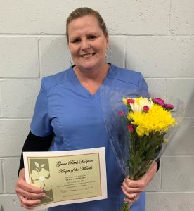 Hospice Angel of the Month: Tammy Irick, RN