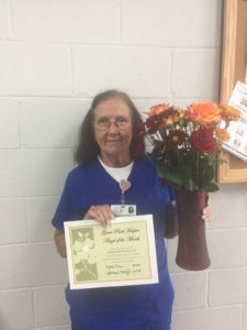 Hospice Care Orangeburg SC - Grove Park Hospice Nurse Honored