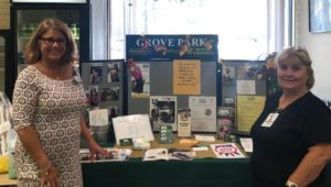 "Hospice Care Orangeburg SC - Phyllis and Tina Offer Info. at the Oaks' ""Twig"""