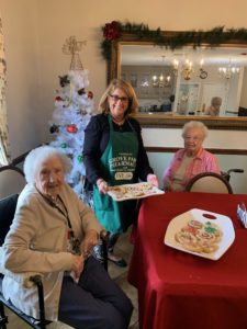 End of Life Care Orangeburg SC - Grove Park Hospice Bakes with Longwood Residents